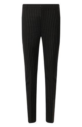 Мужской шерстяные брюки ALEXANDER MCQUEEN черного цвета, арт. 595641/Q0U84 | Фото 1