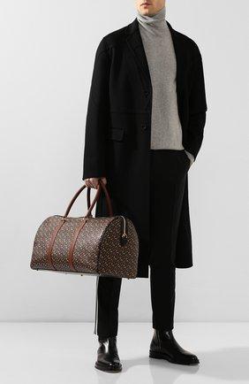 Мужская дорожная сумка BURBERRY коричневого цвета, арт. 8022609 | Фото 2