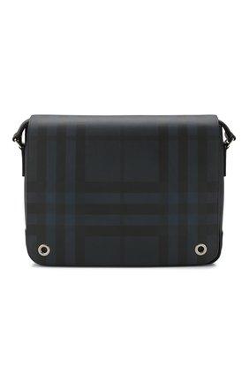 Мужская сумка-мессенджер BURBERRY синего цвета, арт. 8023708 | Фото 1