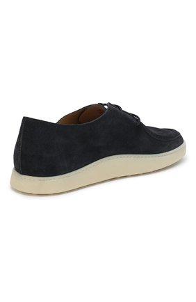 Замшевые ботинки | Фото №4