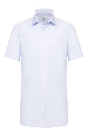 Мужская хлопковая сорочка LUIGI BORRELLI голубого цвета, арт. EV08/LUCIAN0 SS/TS10700 | Фото 1
