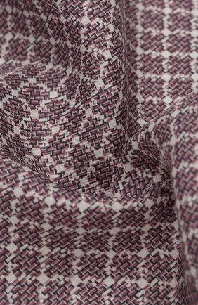 Мужской шелковый платок ERMENEGILDO ZEGNA розового цвета, арт. Z7J03/39A | Фото 2