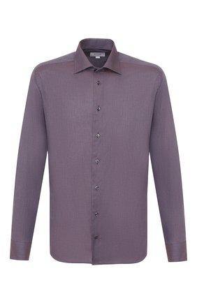 Мужская хлопковая сорочка ETON сиреневого цвета, арт. 1000 00829 | Фото 1