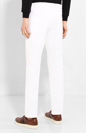 Мужские джинсы LORO PIANA белого цвета, арт. FAG1329 | Фото 4
