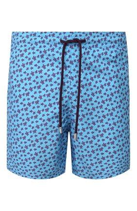 Детского плавки-шорты VILEBREQUIN голубого цвета, арт. MOOU0B39 | Фото 1