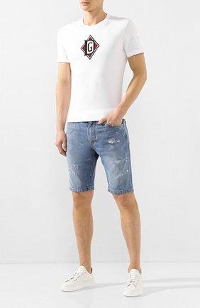 Мужские кожаные кеды SALVATORE FERRAGAMO белого цвета, арт. Z-06862943E   Фото 2