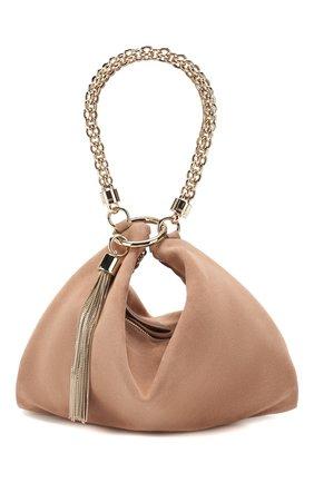 Женский клатч callie JIMMY CHOO светло-розового цвета, арт. CALLIE/SUE   Фото 1