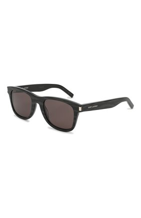 Женские солнцезащитные очки SAINT LAURENT черного цвета, арт. SL 51 | Фото 1