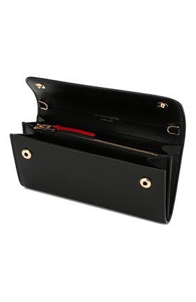 Кожаный кошелек на цепочке | Фото №4