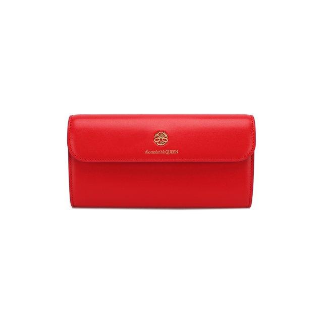 Кожаный кошелек на цепочке Alexander McQueen