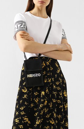 Мужского чехол для iphone KENZO черного цвета, арт. FA52PM408F01 | Фото 2