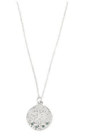 Женская кулон kressida на цепочке HERMINA ATHENS серебряного цвета, арт. KSPS | Фото 2