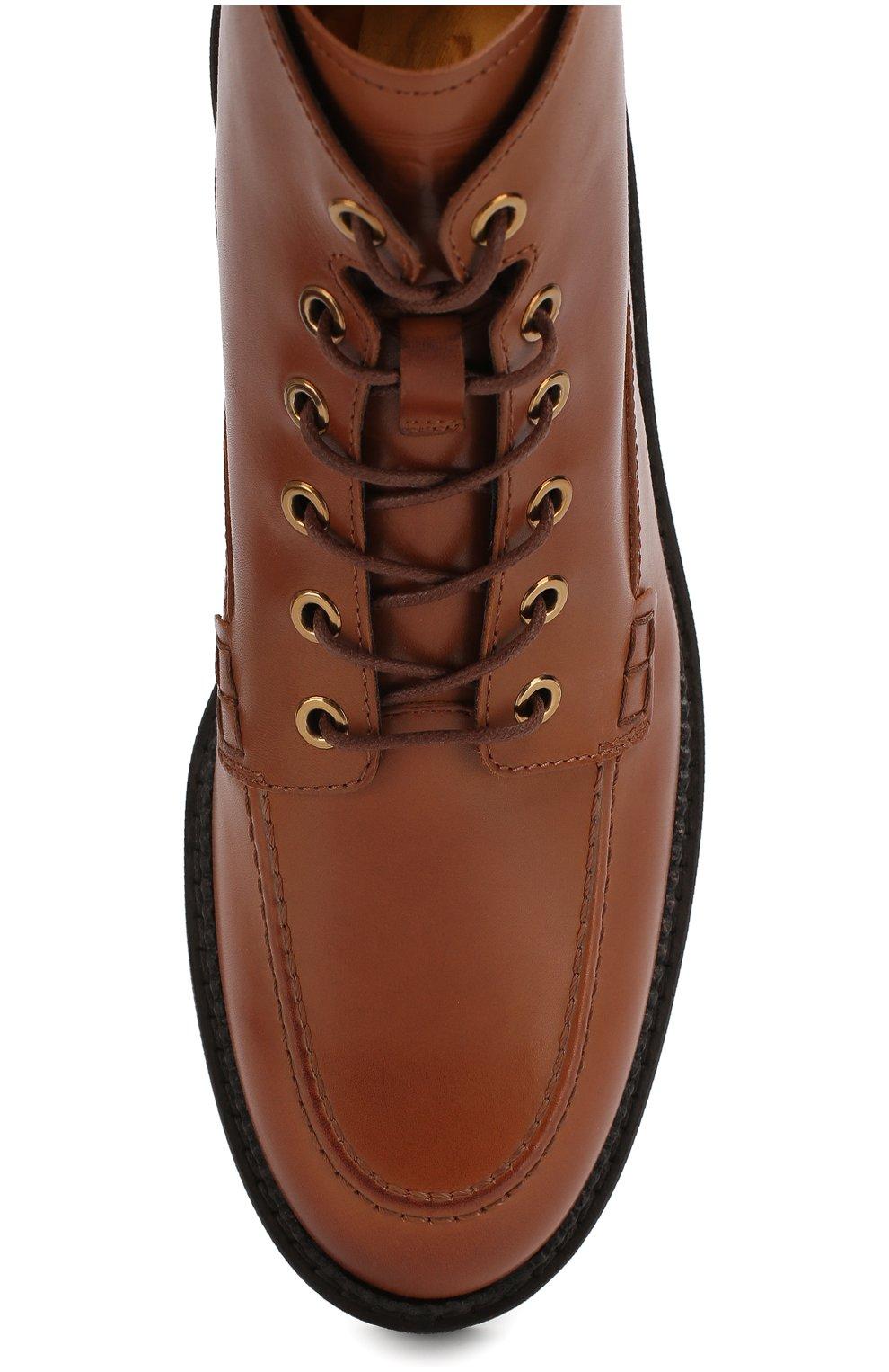 Кожаные ботинки   Фото №5