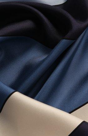 Женский шелковый платок valentino garavani VALENTINO синего цвета, арт. TW2EI114/CRF   Фото 2