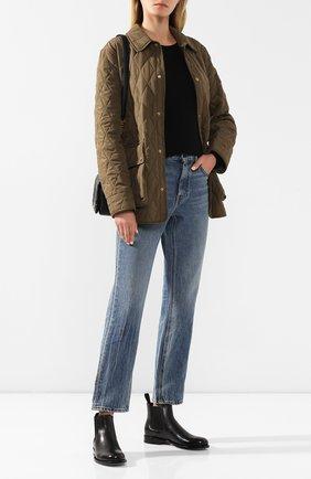 Женские кожаные челси SANTONI черного цвета, арт. WTKM58071BA3CLGAN01 | Фото 2