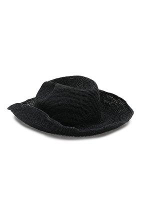 Женская шляпа GIORGIO ARMANI темно-синего цвета, арт. 797311/0P508   Фото 2 (Материал: Растительное волокно)