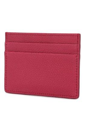 Женский кожаный футляр для кредитных карт DOLCE & GABBANA фуксия цвета, арт. BI0330/AA899 | Фото 2