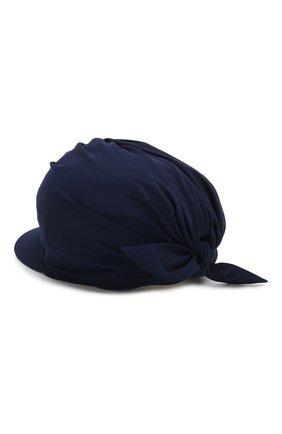 Женская кепка GIORGIO ARMANI темно-синего цвета, арт. 797306/0P505 | Фото 2