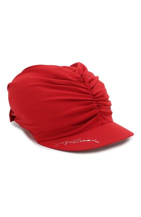 Женская кепка GIORGIO ARMANI красного цвета, арт. 797306/0P505 | Фото 1