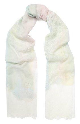 Мужские кашемировый шарф VINTAGE SHADES разноцветного цвета, арт. 11863C | Фото 1