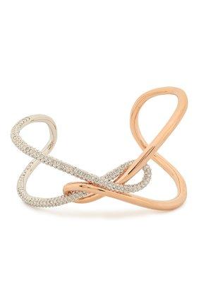 Женский браслет infinity cuff SWAROVSKI серебряного цвета, арт. 5538227 | Фото 1