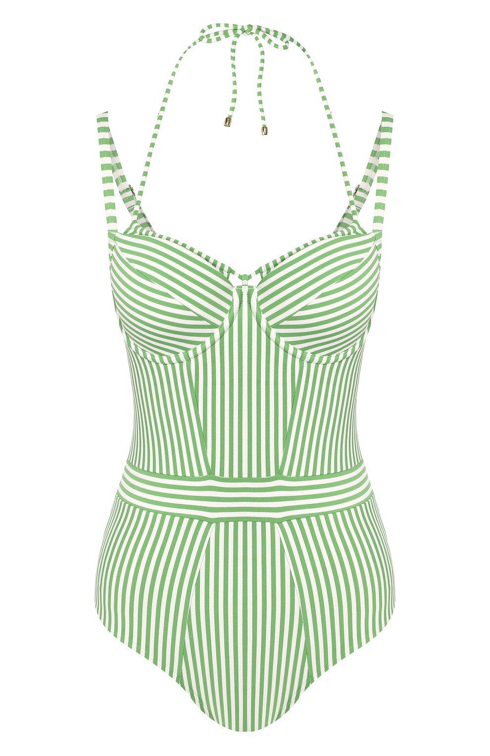 Женский слитный купальник MARLIES DEKKERS зеленого цвета, арт. 19985 | Фото 1