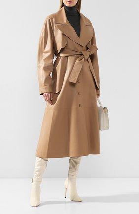 Кожаное пальто | Фото №2