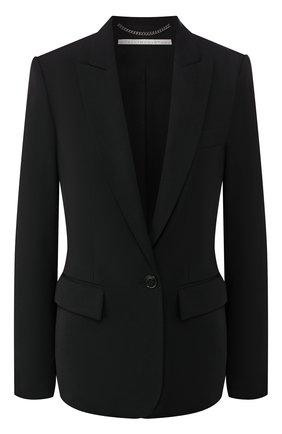 Женский шерстяной жакет STELLA MCCARTNEY черного цвета, арт. 532394/SNB48 | Фото 1