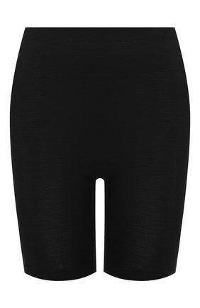 Женские шорты из смеси шерсти и шелка HANRO черного цвета, арт. 071421 | Фото 1