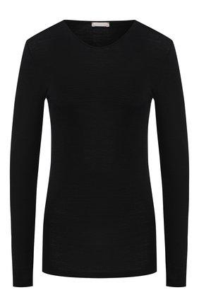 Пуловер из смеси шерсти и шелка | Фото №1