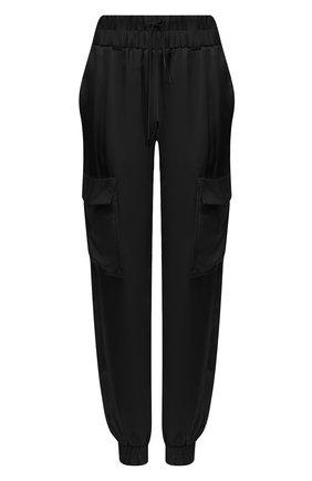 Женские шелковые джоггеры TOM FORD черного цвета, арт. PAW299-FAX623 | Фото 1