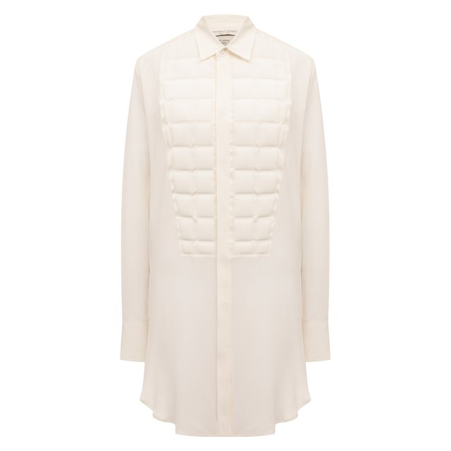 Шелковая рубашка Bottega Veneta
