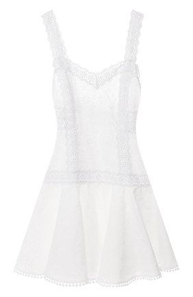 Женское хлопковое платье CHARO RUIZ IBIZA белого цвета, арт. 202603 | Фото 1