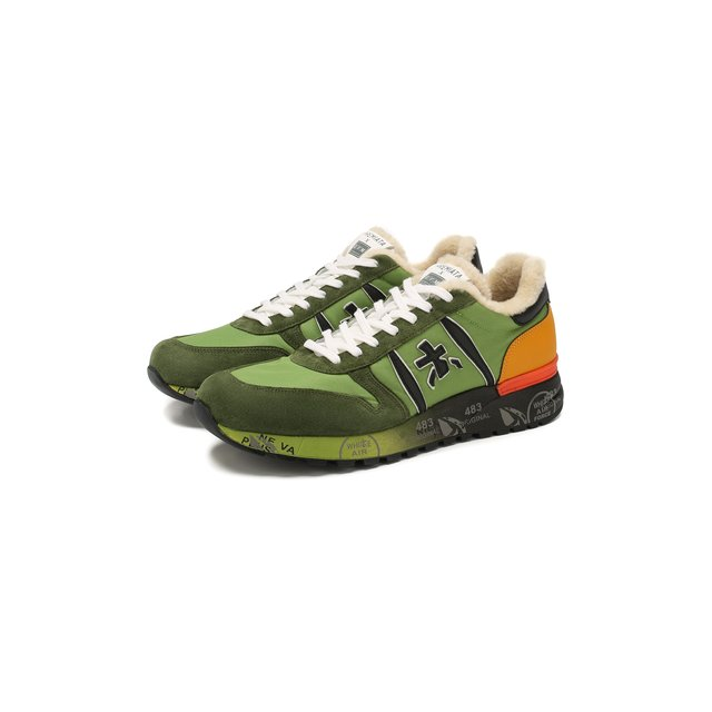 Комбинированные кроссовки Premiata x ЦУМ Lander Premiata — Комбинированные кроссовки Premiata x ЦУМ Lander
