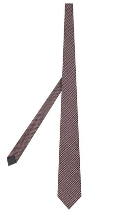 Мужской шелковый галстук ERMENEGILDO ZEGNA бордового цвета, арт. Z7D31/1L7 | Фото 2
