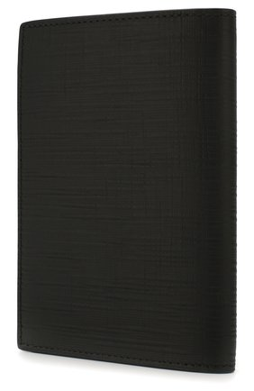 Мужской кожаная обложка для паспорта ERMENEGILDO ZEGNA черного цвета, арт. E1448J-LHJAK | Фото 2