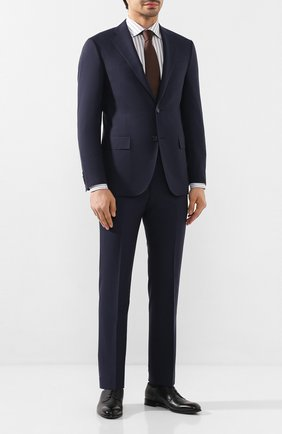 Мужской шерстяной костюм CORNELIANI темно-синего цвета, арт. 857268-0118414/92 Q1 | Фото 1