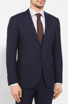 Мужской шерстяной костюм CORNELIANI темно-синего цвета, арт. 857268-0118414/92 Q1 | Фото 2