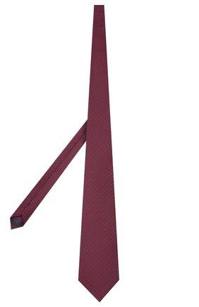 Мужской шелковый галстук BRIONI бордового цвета, арт. 062I00/P9496 | Фото 2