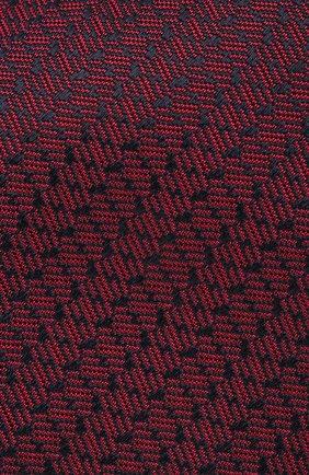 Мужской шелковый галстук BRIONI бордового цвета, арт. 062I00/P9496 | Фото 3