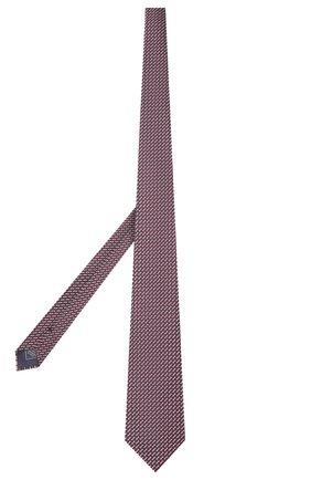 Мужской шелковый галстук BRIONI красного цвета, арт. 062I00/P9494   Фото 2 (Материал: Шелк, Текстиль; Статус проверки: Проверена категория; Принт: С принтом)
