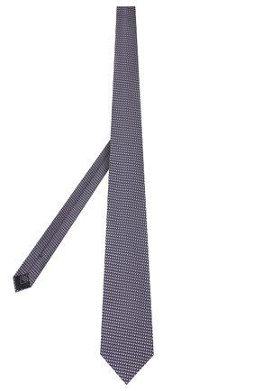 Мужской шелковый галстук BRIONI сиреневого цвета, арт. 062I00/P9458 | Фото 2