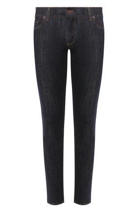 Мужские джинсы DOLCE & GABBANA темно-синего цвета, арт. GY07LD/G8BY3   Фото 1