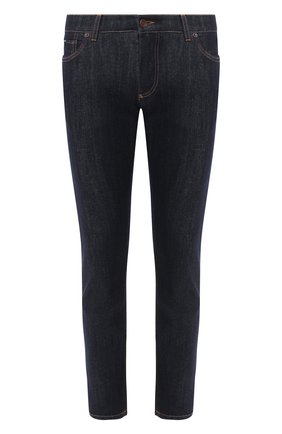 Мужские джинсы DOLCE & GABBANA темно-синего цвета, арт. GY07CD/G8BY3   Фото 1