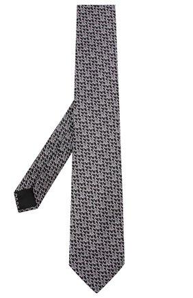 Мужской шелковый галстук ZILLI серого цвета, арт. 50236/TIES | Фото 2
