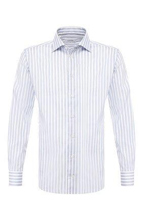 Мужская хлопковая сорочка ETON голубого цвета, арт. 1000 00655 | Фото 1