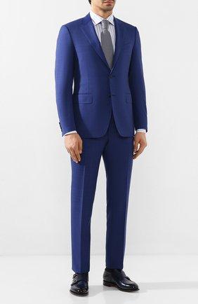 Мужская хлопковая сорочка ETON голубого цвета, арт. 1000 00655 | Фото 2