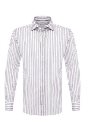 Мужская хлопковая сорочка ETON серого цвета, арт. 1000 00655   Фото 1