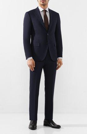 Мужская хлопковая сорочка ETON серого цвета, арт. 1000 00655   Фото 2