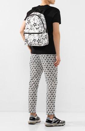 Мужской текстильный рюкзак vulcano DOLCE & GABBANA черно-белого цвета, арт. BM1607/AJ610 | Фото 2